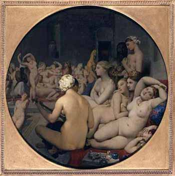 Le Bain Turc by Ingres Famous French Painter