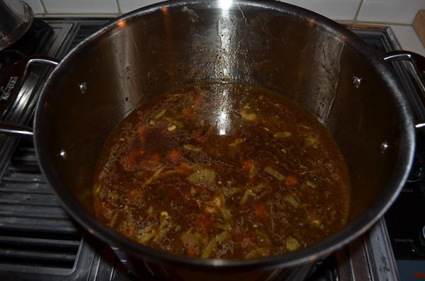 French brown taragon sauce