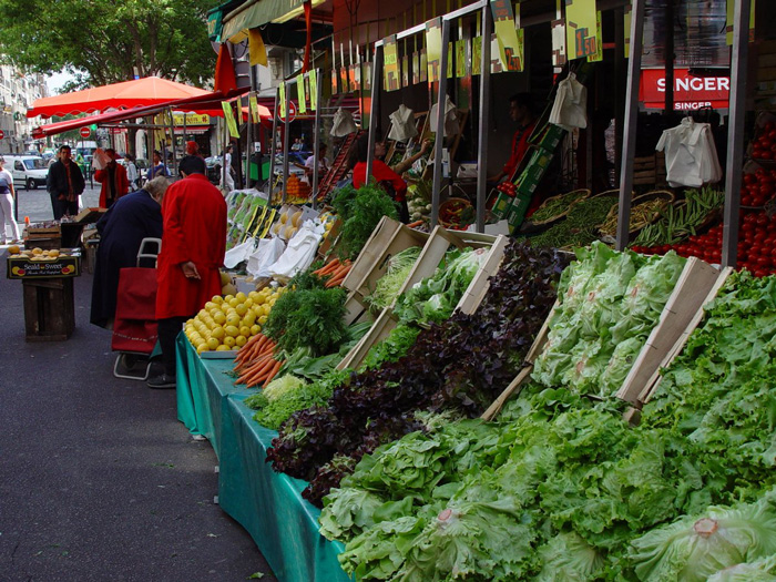 shopping in paris markets