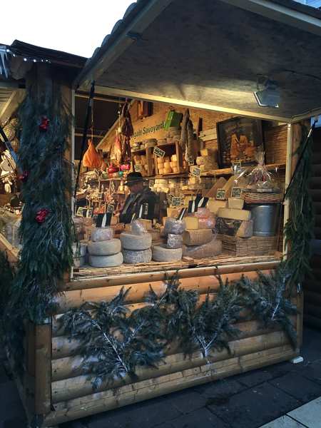 Christmas in France Grenoble cheese for sale
