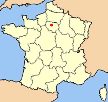 Map Of France Facts.Paris Facts