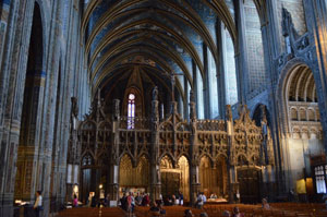 Albi Cathedral interior