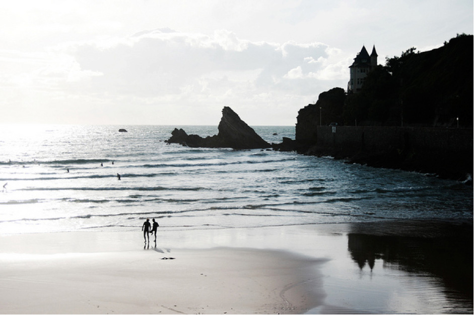 beaches in france top five cote des basques