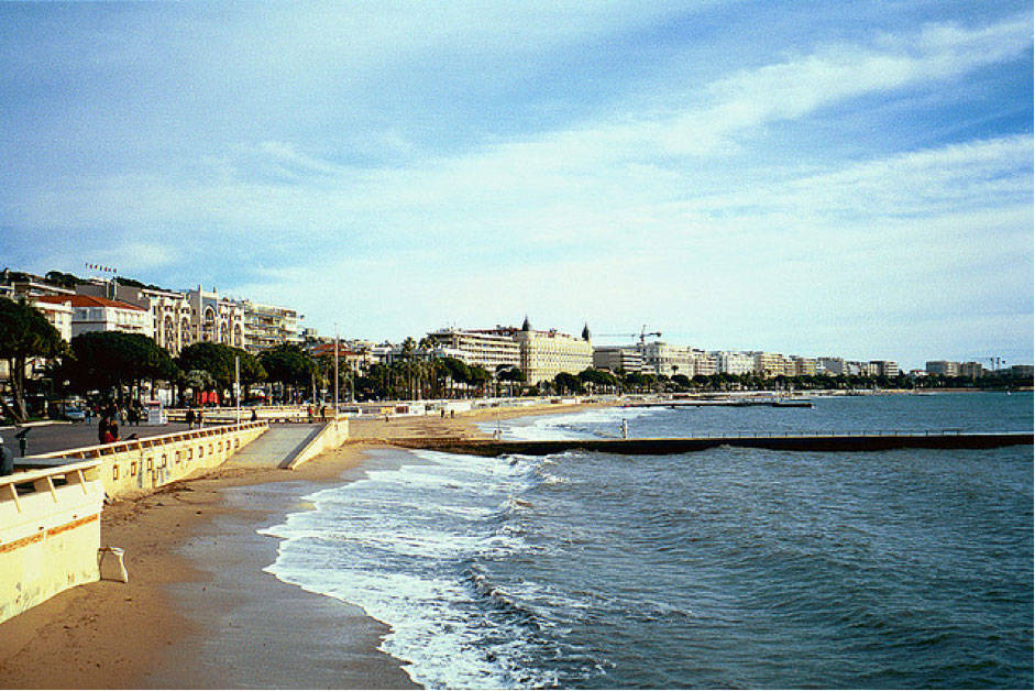 beaches in france top five cannes