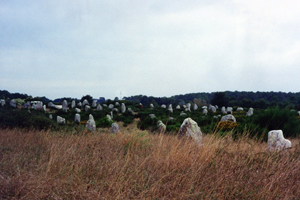 Brittany France Carnac menhirs