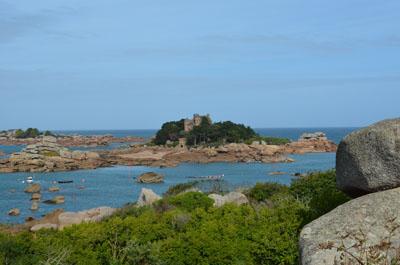 Côte D'Armor coast Brittany France