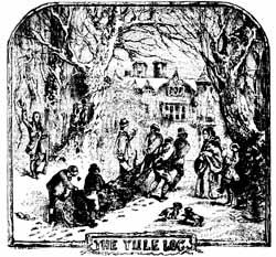 yule log traditions