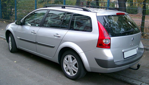 car rental France Renault Megan 1