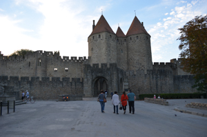 Carcassonne main gate