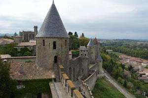 Carcassonne France Castle view