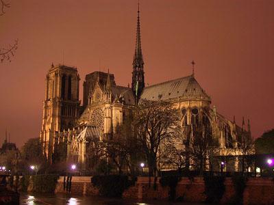 easter in France Notre Dame