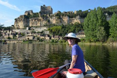 Dordogne river canoeing