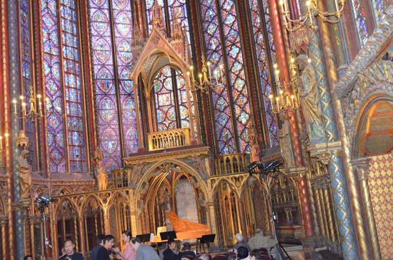 french culture Sainte Chapelle in Paris