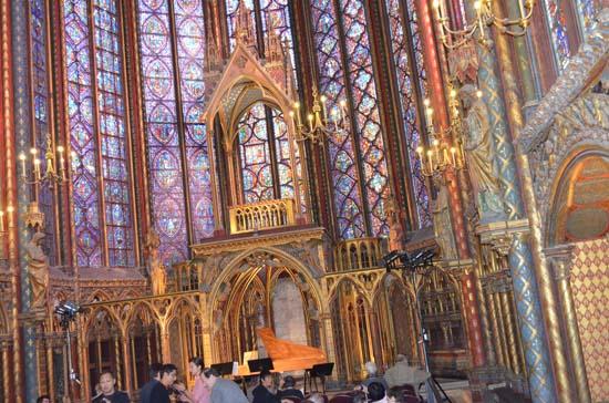 french culture Sainte Chapelle in Paris