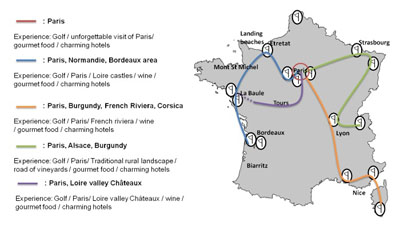 Best French Golf Holiday Golfing Break France - Best of france tours