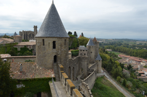 chateau le comtal ramparts
