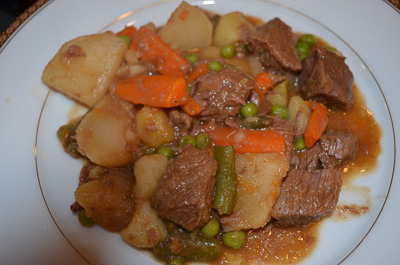 Delicious Navarin Printanier French lamb stew recipe