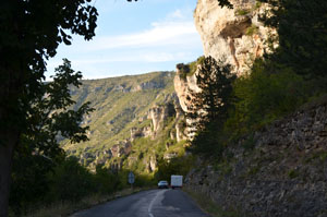 Georges du Tarn road