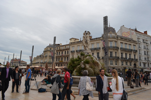 Montpellier main square