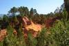 Roussillon ochre cliff walk