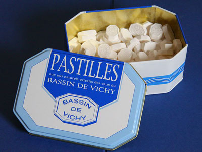 traditional french foods of Massif Central pastilles