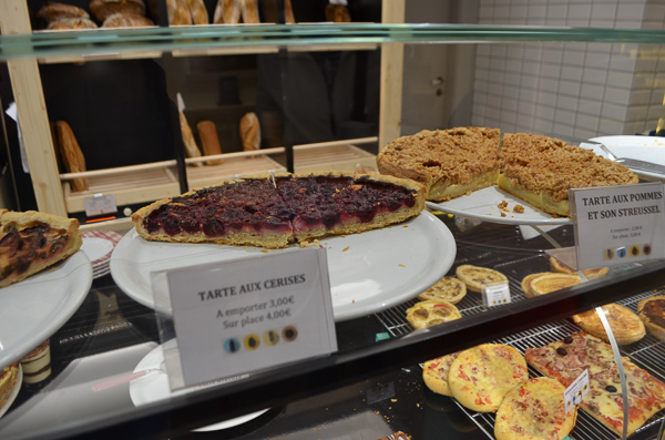 traditional french foods cherry tart