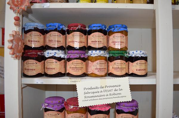 jams in Provence