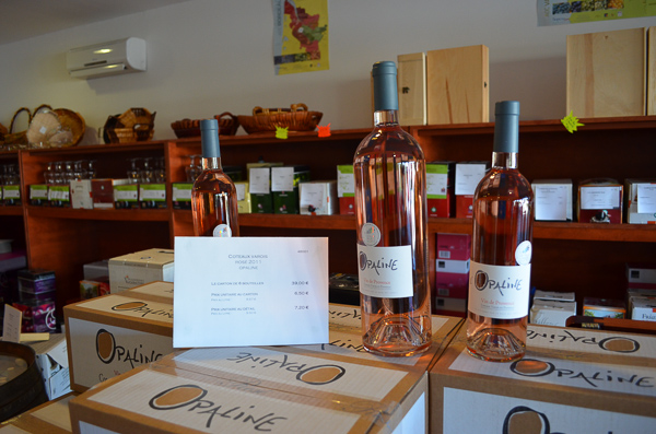 rose wine from the south of France
