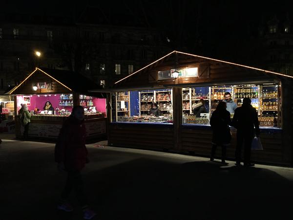 christmas in france market grenoble
