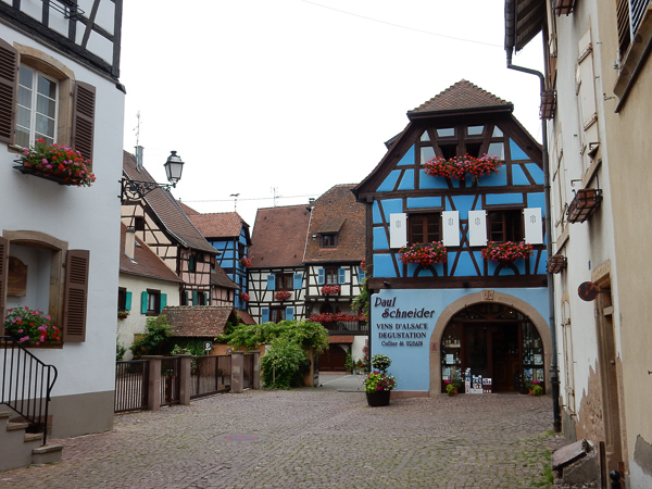 Grand rue alsace wine merchant