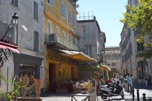 Arles Place du Forum and Van Gogh Cafe