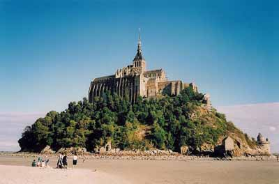 weather forcast france normandy mont saint michel