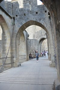 Carcassonne drawbridge