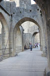 Carcassonne drawbridge