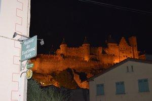 Carcassonne illumated
