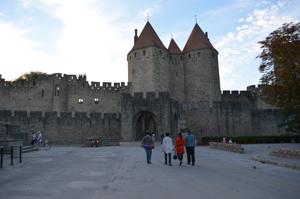 Carcassonne main gate