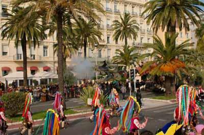 Easter in France Carnaval in Nice