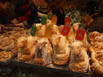 Easter in France osterlammele biscuits