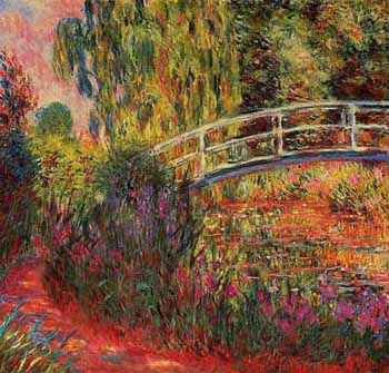 Water Lily Pond by Monet, Famous French Painter