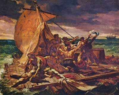 The Raft of Medusa by Géricault Famous French Painters