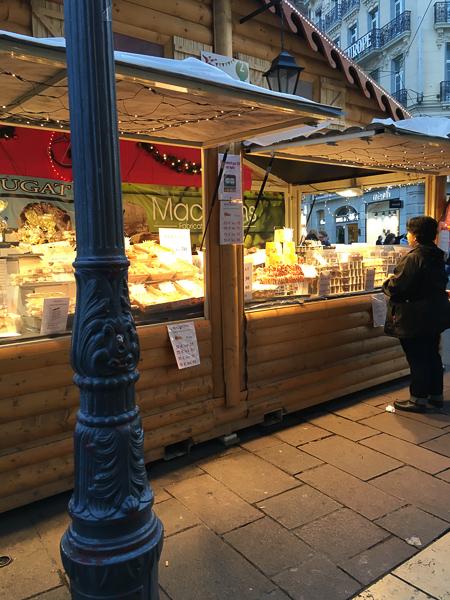 Grenoble christmas market in france