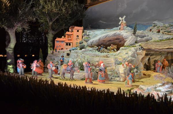 christmas in france creche scene