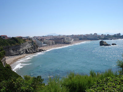weather forcast france biarritz french beach